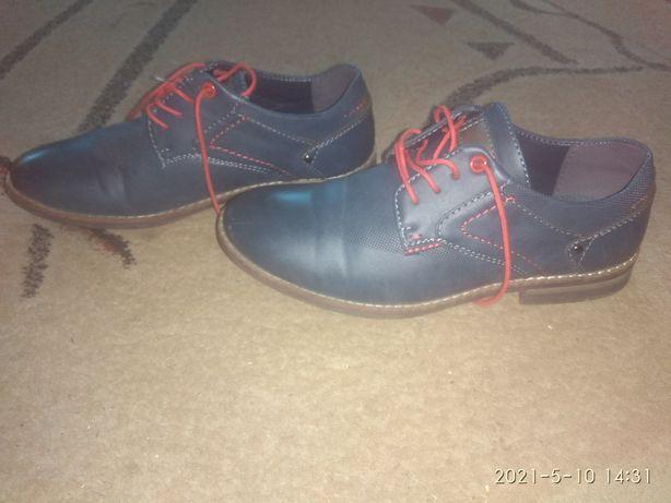Buty komunijne chłopięce