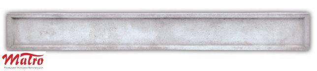 Nowość podmurówki betonowe 30x252cm Podmurówka betonowa bez łączników