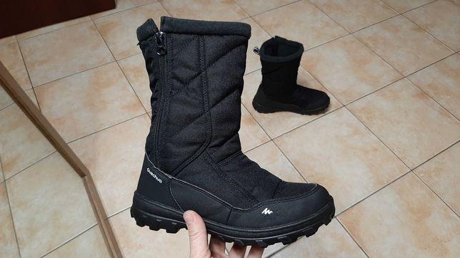 36-37р,23,5см,Термо ботинки,зимние сапоги Quechua (Кечуа), отличное