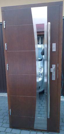 Drzwi drewniane zewnętrzne 72mm - NAJLEPSZA CENA