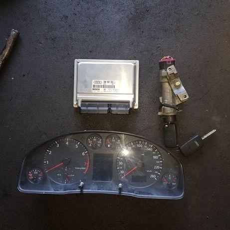 Zestaw startowy do odpalenia licznik komputer audi a6 c5 2.4benz autom