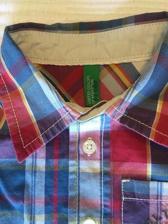 Camisa Menino Benetton 12/18m