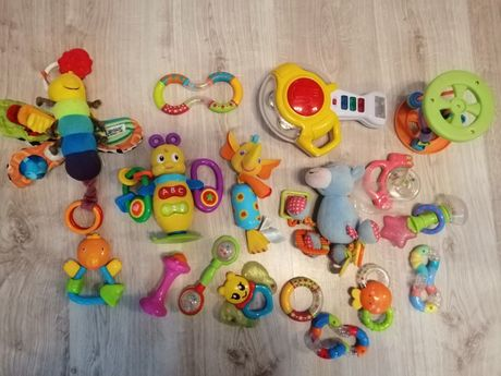 Duży zestaw zabawek