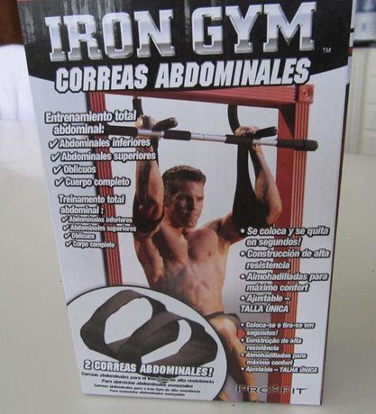 Correias Abdominais Iron Gym