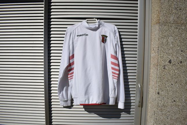Sweat de futebol de treino do SC Braga