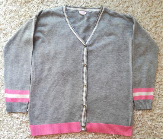 Sweterek dziewczęcy, rozmiar 140, 9-10 lat