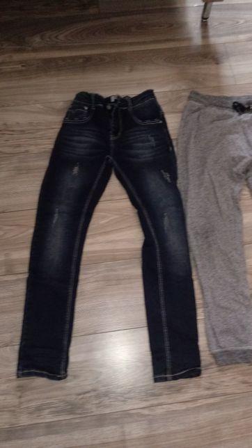 Dwie pary spodni dla chlopca roz.158