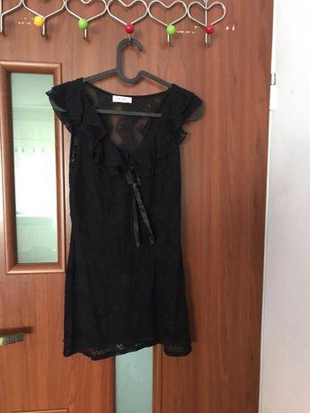 Tunika czarna koronkowa Orsay