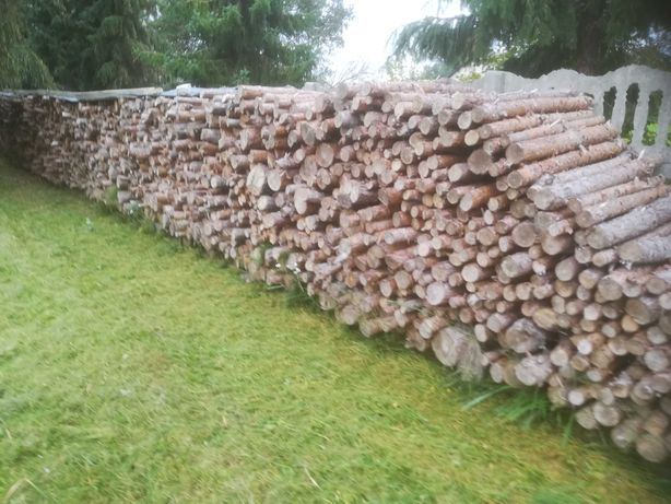 Drewno opałowe w metrach - sosna