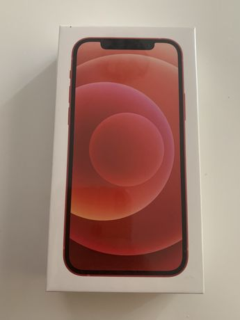 Iphone 12 128GB Product Red bez simlocka, nowy