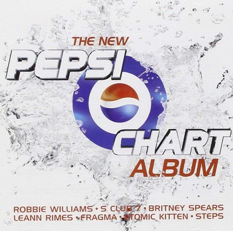 BRITNEY SPEARS The New Pepsi Chart Album 2001
