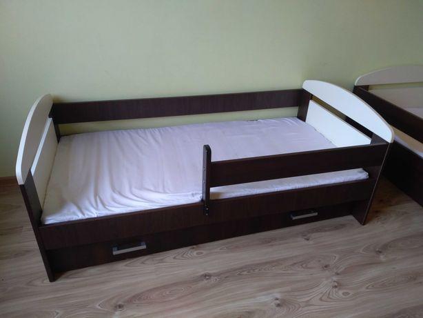 Łóżko dziecięce 160x80 szuflada i materac - 2 szt.