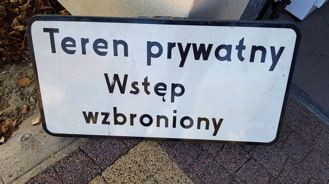 Znak na teren