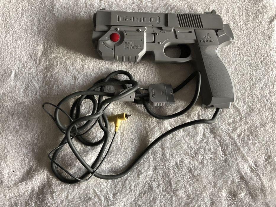 NPC-103 Guncon Namco Oryginalny pistolet do PS One Stare Olesno - image 1