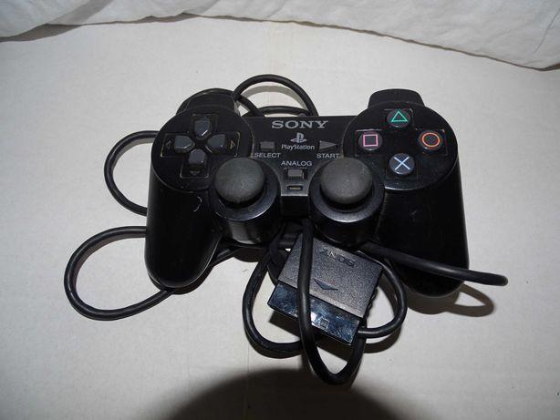 Pad do playstation 2 czarny uszkodzony