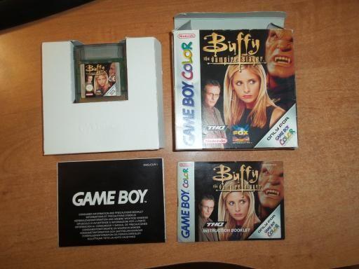 Buffy The Vampire Slayer gra na nintendo Gameboy Color