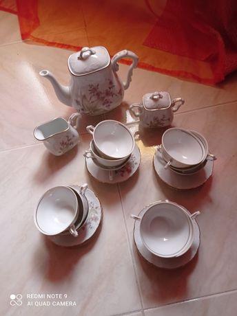 Serviço chá vista alegre