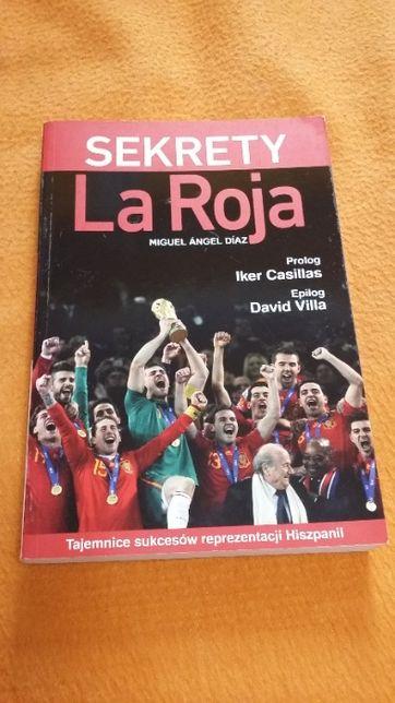"""Książka """"Sekrety La Roja"""" Miguel Angel Diaz"""
