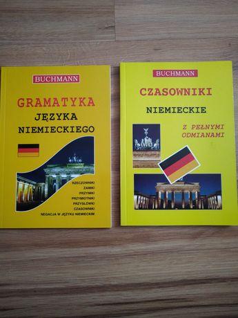 Książki do nauki języka niemieckiego. Gramatyka + czasowniki