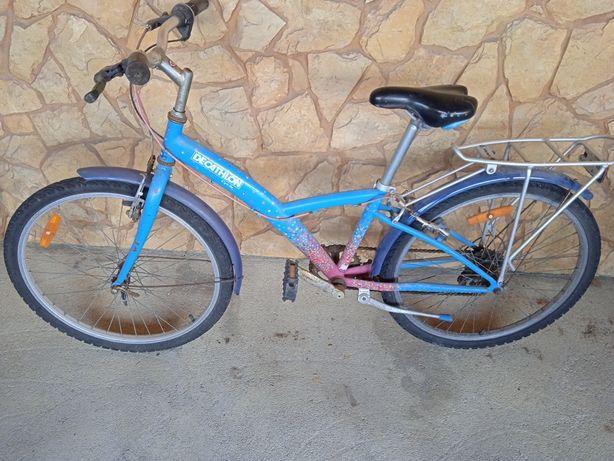 Bicicleta de montanha, da Decathlon