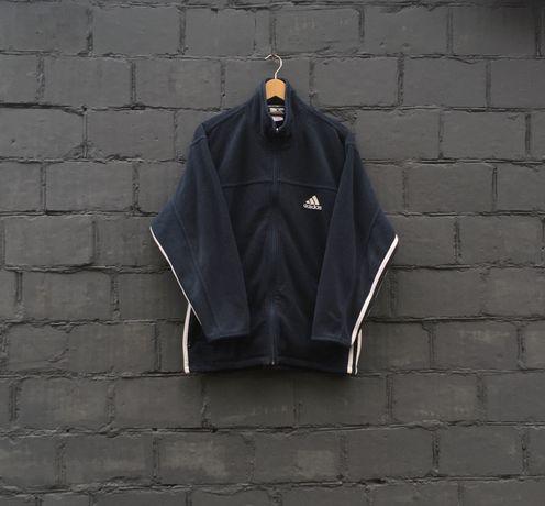 Вінтажна флісова кофта Adidas