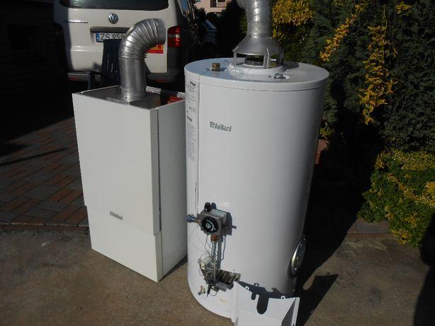 kociol gazowy c.o. + gazowy podgrzewacz wody firmy vaillant -gwarancja