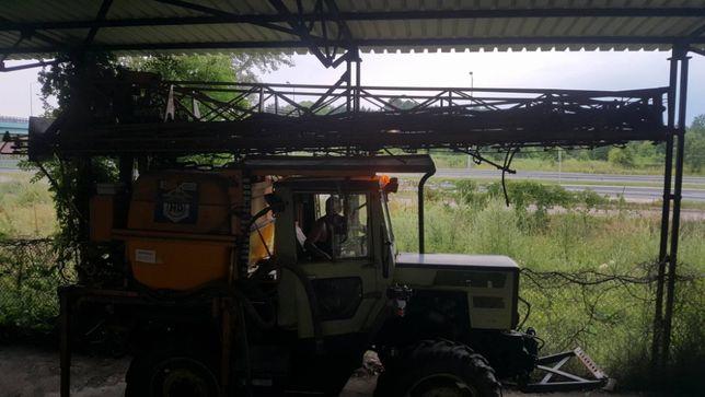 Opryskiwacz samojezdny HARDI - MERCEDES MB Trac 800