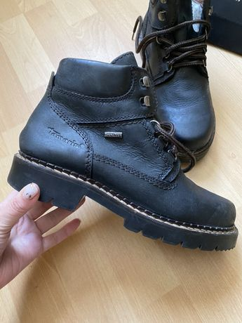 Зимние сапоги ботинки Tamaris Ecco Clarks