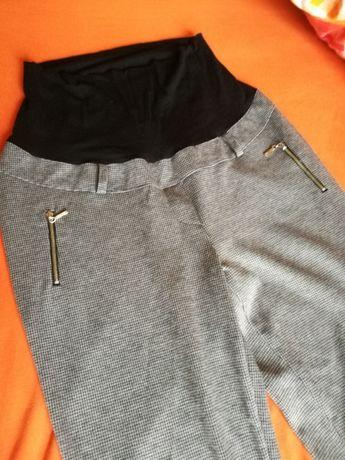 Spodnie ciążowe happymum + rajstopy ciążowe rozm. 3