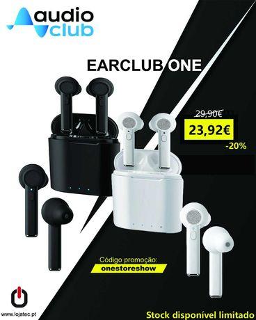 Earbuds audio club Bluetooth