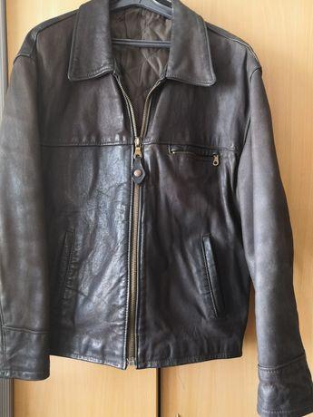 Куртка - кожанка, унисекс, размер М-Л