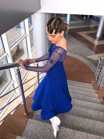 Турнирное платье Бейсик стандарт, рост 150-155