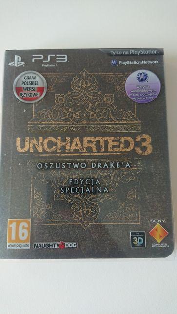 Uncharted 3: Oszustwo Drake'a Edycja specjalna PS3 PL