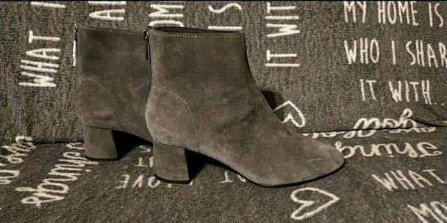 Buty na niewysokim obcasie