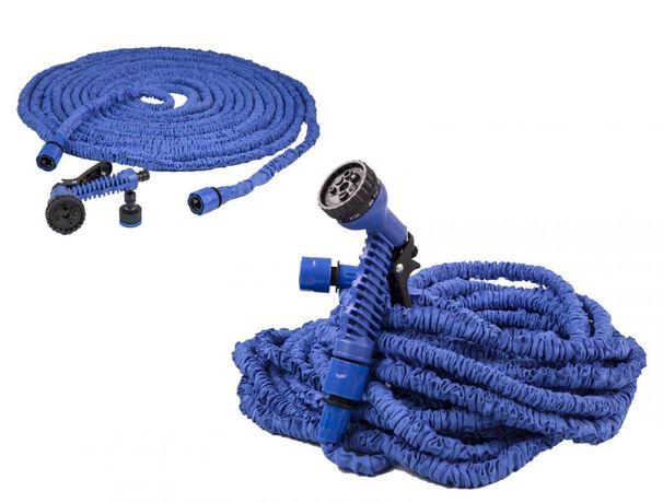 Шланг для полива огорода / двора / дачи икс хоз x-hose с распылителем