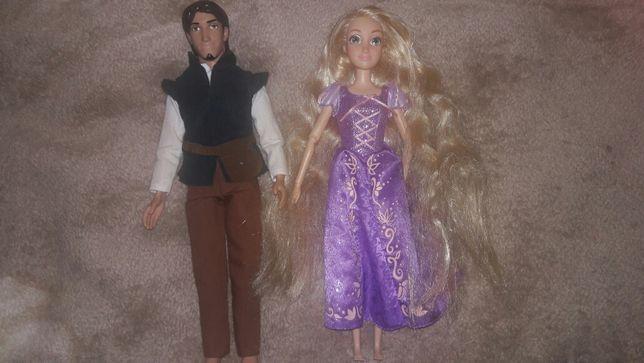 Кукла Рапунцель и Флин Disney