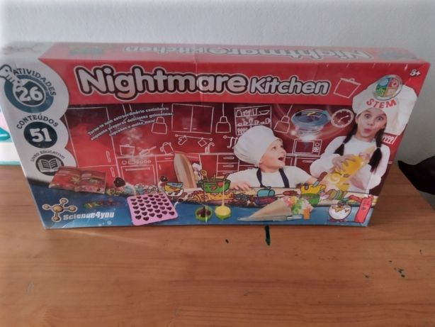Nightmare Kitchen science 4 you