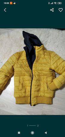 Куртка на 2 стороны демисезонная