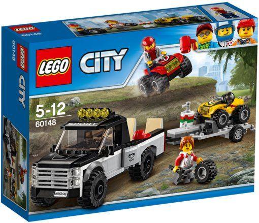 LEGO City Лего Сити Гоночная команда 60148 Lego