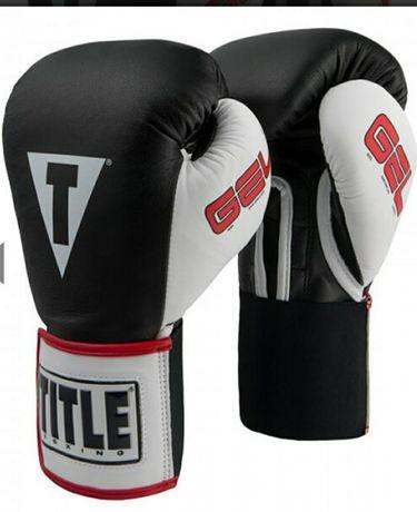 Боксерские перчатки TITLE GEL World Elastic 14 oz унции