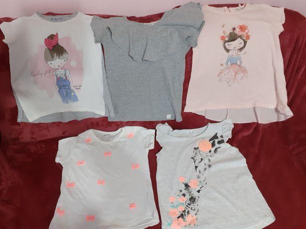 Bluzki letnie dla dziewczynki
