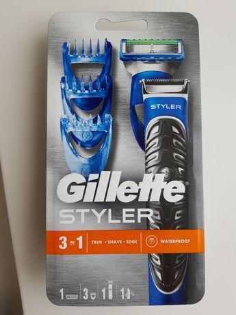 Maszynka do golenia trymer Gilette Styler  3w1