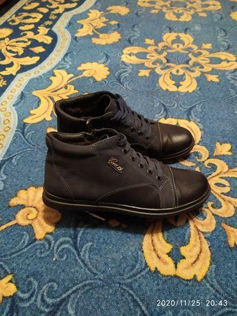 Мужские зимние ботинки 40р.