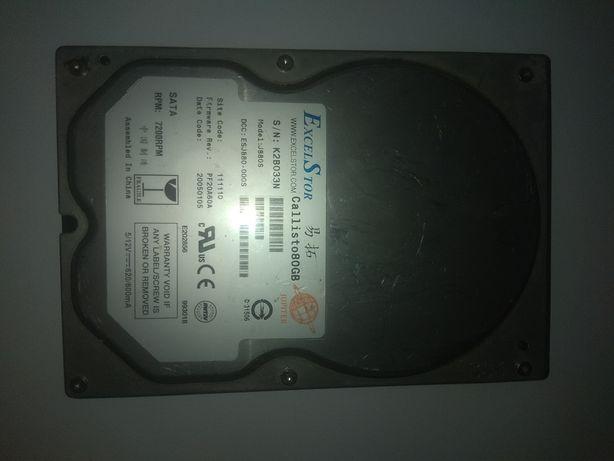 Dysk HDD ExcelS tor 80 gb