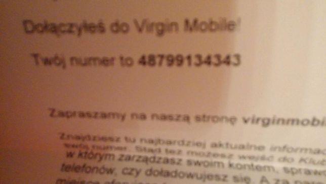 Starter virgin mobile z łatwym numerem 799.13.43.43