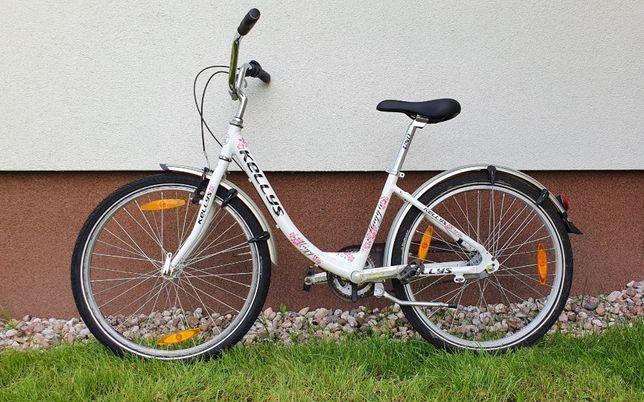 "Rower juniorski Kellys Maggie 24"" - stan bardzo dobry"