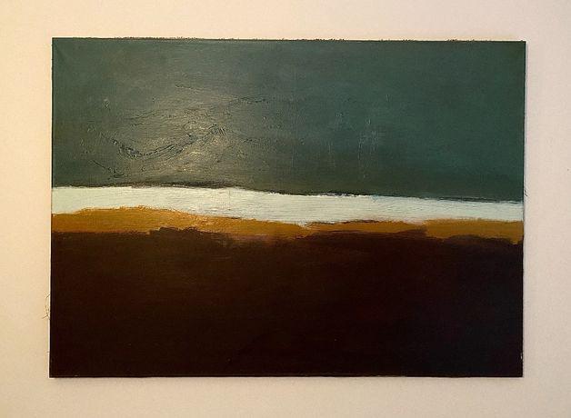 Linia brzegowa - obraz na płótnie 105x75cm