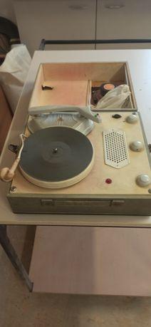 Gramofon, adapter Bambino PRL retro