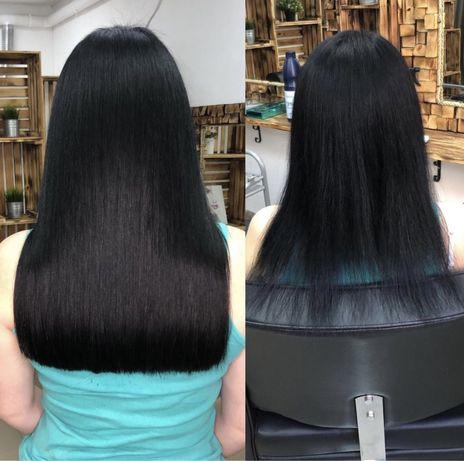 ПРОФЕССИОНАЛЬНОЕ наращивание волос  Вишневое