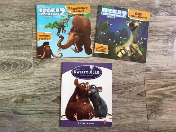 """""""Epoka lodowcowa"""" i """"Ratatouille"""" - książki dla dzieci"""